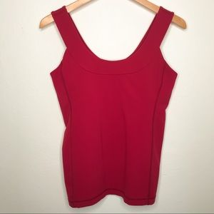 Lululemon Dark Pink Fitted Support Workout Top